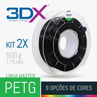 Kit Filamento Petg 1,75 Mm | 2 X 500g