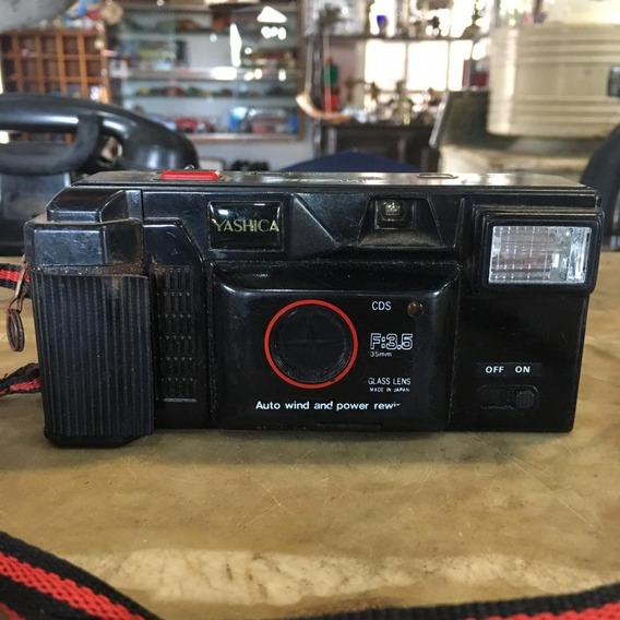 Câmera Fotográfica Yashica Aw 818 Antiga Ñ Canon Nikon 1507