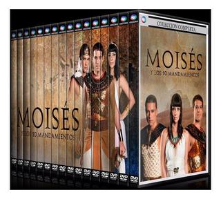Moises Y Los 10 Mandamiento Coleccion Completa En Dvd