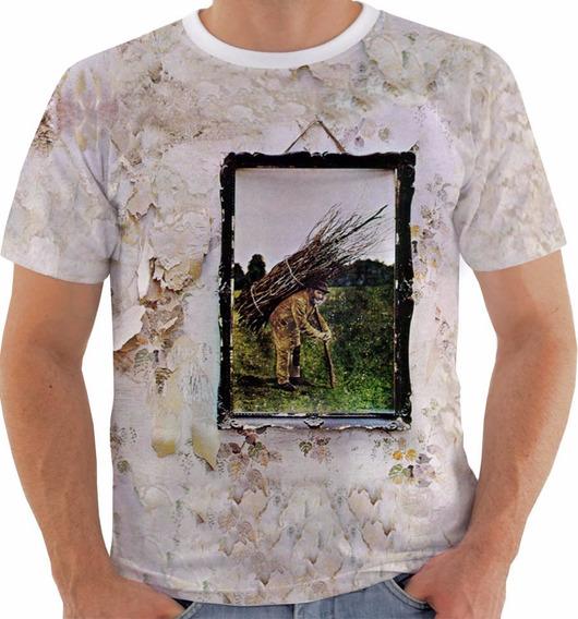 Camiseta Baby Look Regata Led Zeppelin 4 Plant Page Bonham