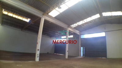 Barracão Para Alugar, 500 M² Por R$ 5.000/mês - Ba0094
