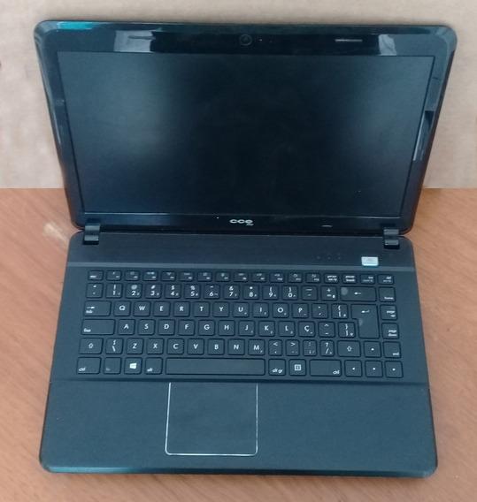 Notebook Cce X345 - Defeitos - Leia Descrição
