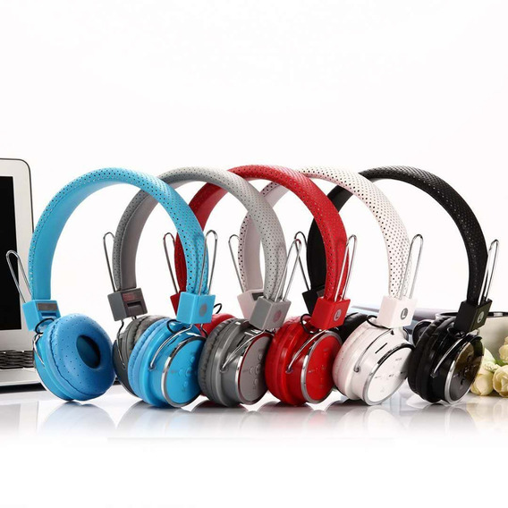 Headphone S/ Fio Bluetooth Chamadas Sd Fm Mp3 Usb Aux P2 B05