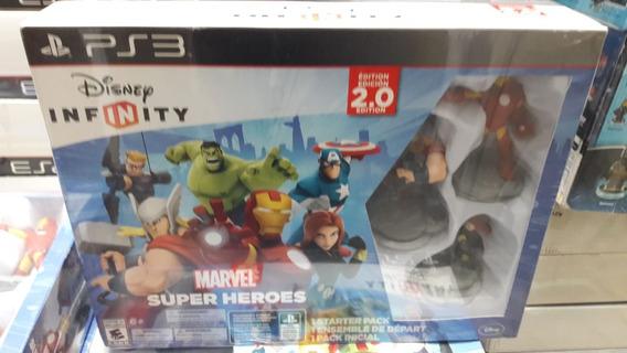 Super Oferta Disney Infinity 2.0 Marvel Para Ps3 Nuevo