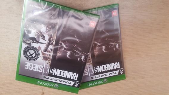 Rainbow Six Siege Xbox One Mídia Física Lacrado Português