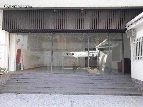 Excelente Loja Para Locação Ao Lado Da Santa Casa - Lo0045
