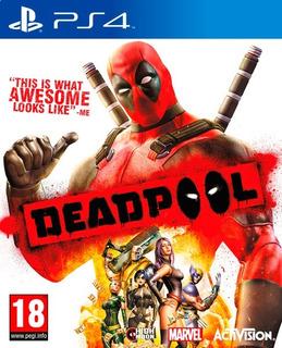 Juego Ps4 Deadpool