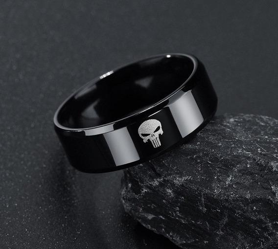 Anel Skull Punisher