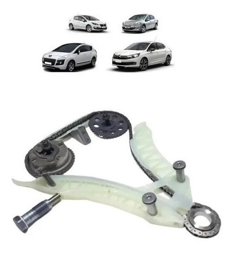 Imagem 1 de 1 de Kit Corrente Distribuição Peugeot Citroen 1.6 16v Thp