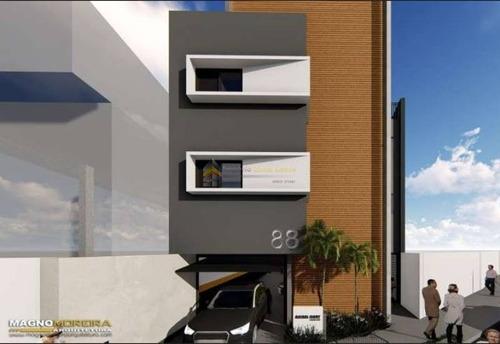 Imagem 1 de 12 de Apartamento Em Condomínio Studio Para Venda No Bairro Vila Granada, 2 Dorm, 41 M - 4593