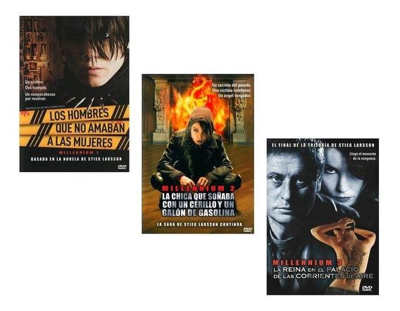 Millennium Trilogía Películas Dvd