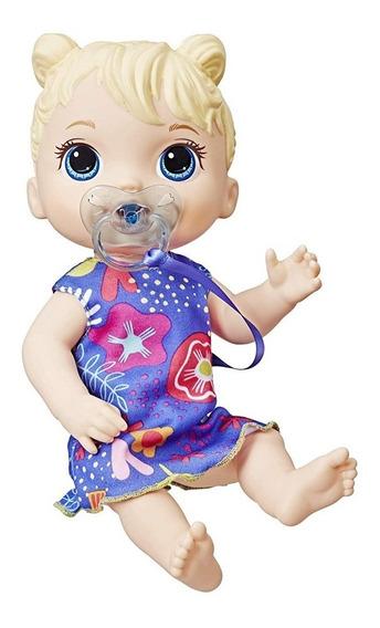 Baby Alive Primeiros Sons Loira Hasbro E3690