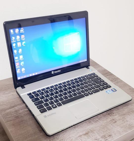 Notebook Gamer Itautec W7730 Intel Core I3 6gb 120gb Ssd
