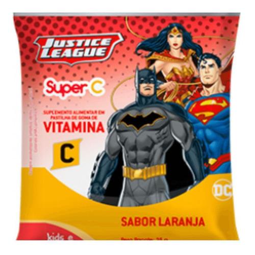 Imagem 1 de 1 de Nutriex Liga Da Justiça Suplemento De Vitamina C 25g