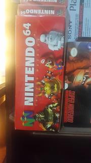 N64 Nintendo 64 Nuevo Sin Usar