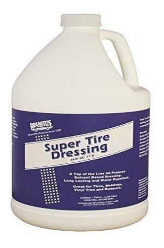 Granitize T7 Auto Super Tire Dressing Rubberplastic 1 Gallon