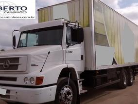 Mb 1620 Truck Ano 2006 Todo Original Com Baú 2016.