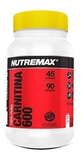 Carnitina 600 90 Caps Nutremax Quemador