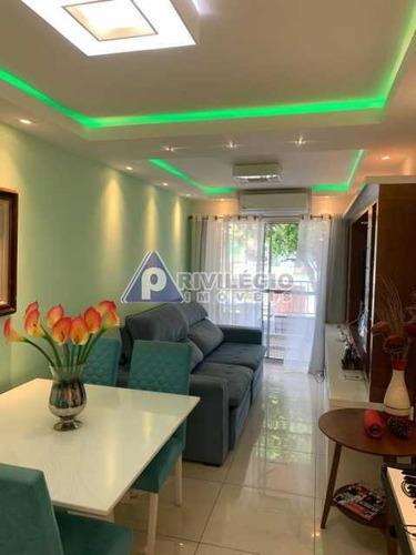Apartamento À Venda, 2 Quartos, 1 Suíte, 1 Vaga, Riachuelo - Rio De Janeiro/rj - 23150