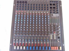 Mesa De Som Profissional Audio Mixer 20 Canais Analógica