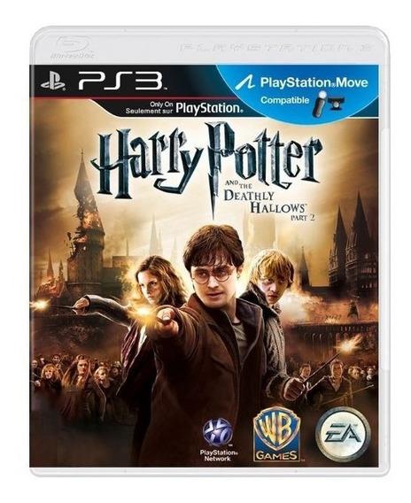 Harry Potter As Relíquias Da Morte Parte 2 Ps3 Físico Usado