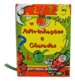 Mini Livro Adivinhações E Charadas