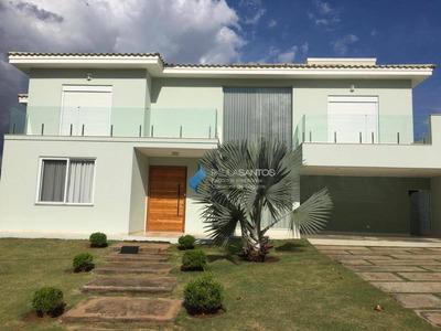 Casa Com 5 Dormitórios À Venda, 450 M² Por R$ 1.900.000 - Condomínio Village Ipanema - Araçoiaba Da Serra/sp - Ca1611