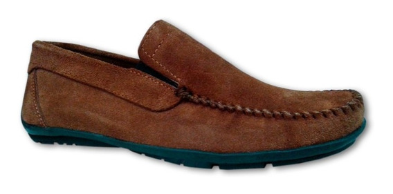 Promo X 2 Pares De Zapatos Mocasines Gamuza Hombre! Oferta