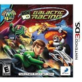 !!! Promoçao!!! Jogo Nintendo 3ds Ben 10 Galactic Racing