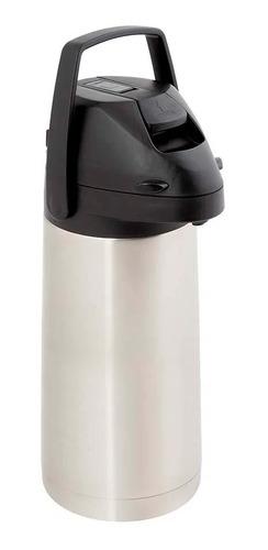 Garrafa Térmica Para Café Agua Chá 1,9l C/ Alavanca Inox Mor