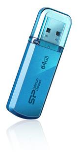 Silicon Power Usb Helios 101 Azul Metalico 64 Gb