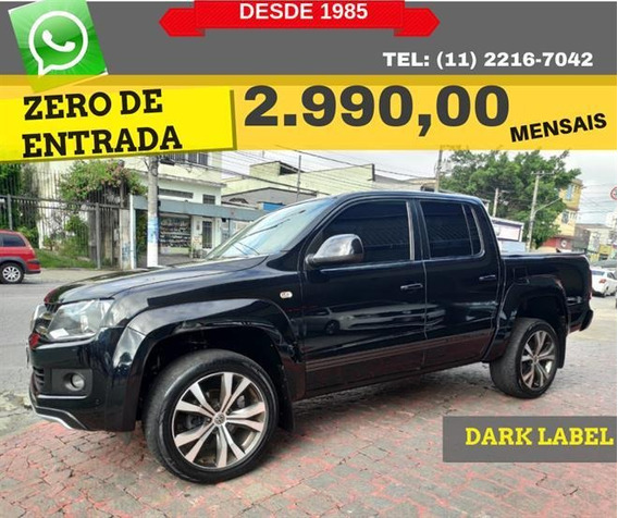 Volkswagen Amarok 2.0 Cd 4x4 Tdi Dark Label (aut) 2015