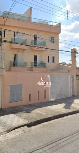 Cobertura Com 2 Dormitórios À Venda, 40 M² Por R$ 320.000,00 - Vila Eldízia - Santo André/sp - Co0785