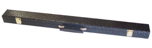 Sterling Gaming Black Alligator Box Cue Case Para 1 Cue