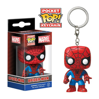 Funko Pop! Keychain: Marvel - Spider-man (4983)