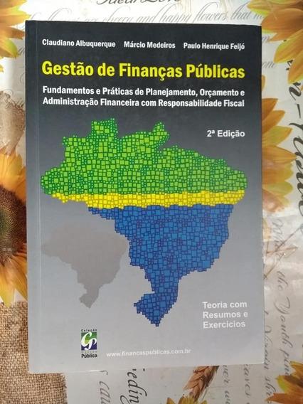 Gestão E Finanças Públicas 2ª Edição Claudiano Albuquerque