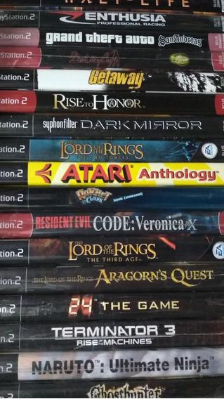 Jogos Playstation 2 Originais Preços Variados Frete 12 P Cr