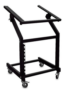 Rack Para Audio Profesional Con Mesa Inclinable Full