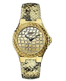 Guess W0227l2 Gold Tone Exotic Sport Watch Women