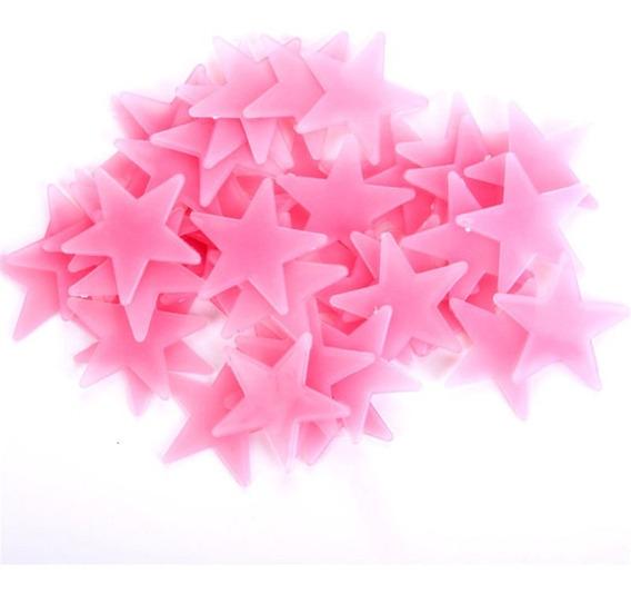 Estrellas Fluorescentes Pack X 50 Brillan Oscuridad Brillo