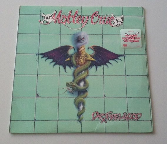 Mötley Crüe - Dr. Feelgood Vinilo 1989 Usa