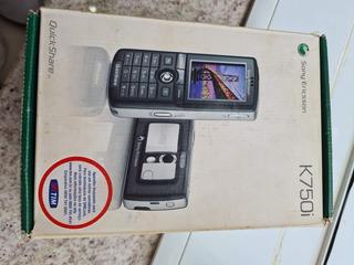 Celular Sony Ericsson K750i