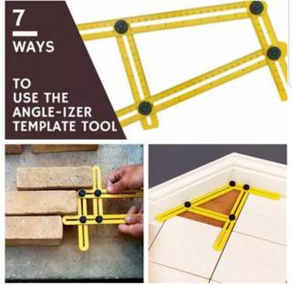 Regla Metro Plegable Multifunción Multi-ángulo