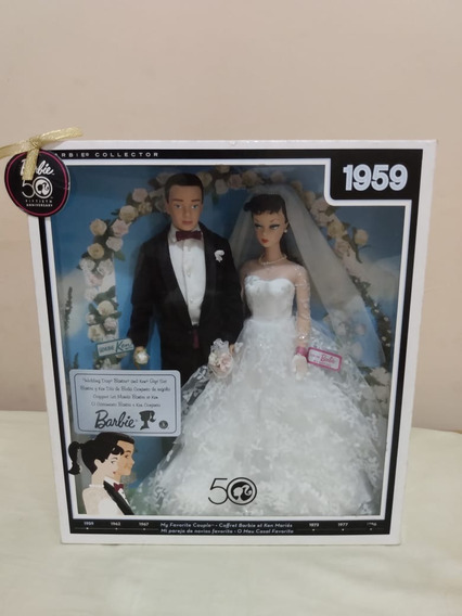 Barbie Collector - 1959 - Wedding Day Barbie And Ken