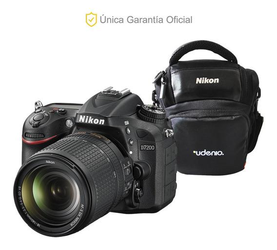 Nikon Oficial D7200 18-140 Vr Y Estuche