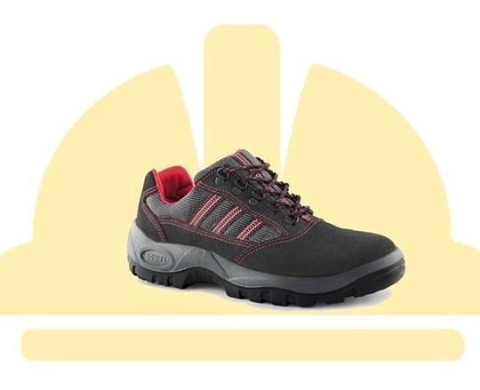 Sapato Ocupacional Tipo Tênis Vaqueta