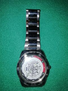Reloj Bomberos Logo De Bomberos Fire - Rescue
