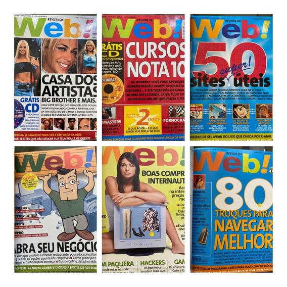 Revista Da Web Kit 11 Revistas (16 A 25 E 01 Especial)