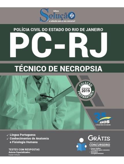 Apostila Pc Rj 2019 Técnico De Necropsia - Polícia Civil Rj
