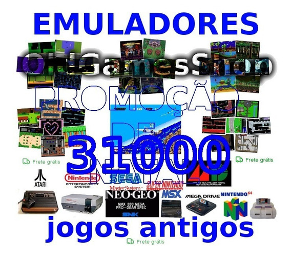 Emuladores 31000 Jgs Atari Nes Snes Megadrive Envio P Email